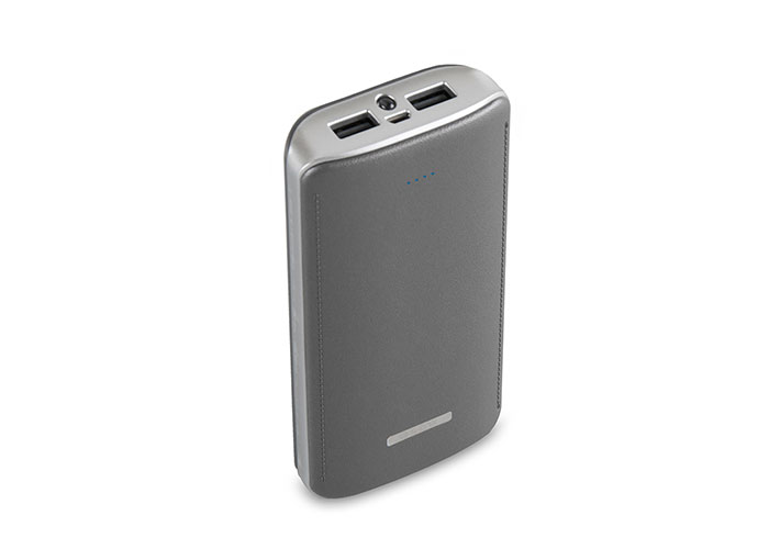 S-link IP-G156 15600mAh Powerbank Silver Portable Battery Charger