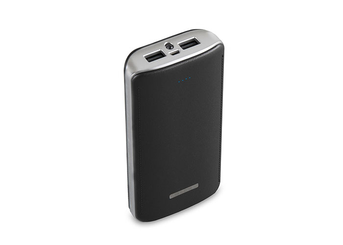 S-link IP-G156 15600mAh Powerbank Black Portable Battery Charger