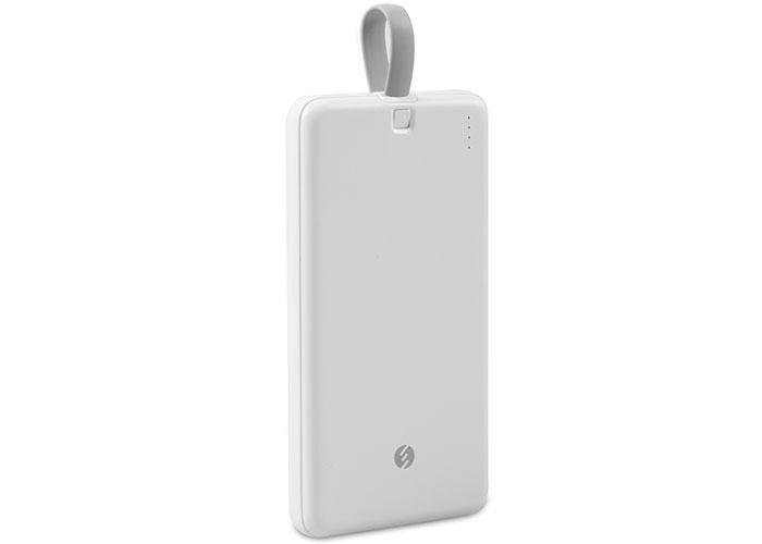 S-link IP-G19 10000mAh 1 Usb Port 2 in 1 Kablo Powerbank Beyaz Taşınabilir Pil Şarj Cihazı