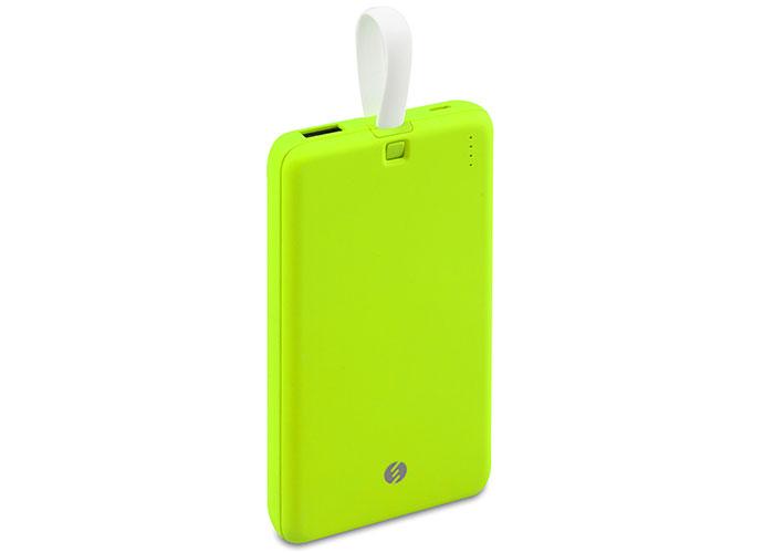 S-link IP-G19 10000mAh 1 Usb Port 2 in 1 Cable Powerbank Yeşil Taşınabilir Pil Şarj Cihazı