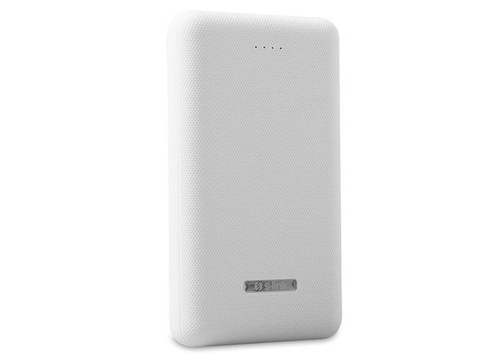 S-link IP-G23 20000mAh Powerbank 2 Usb Port Beyaz Taşınabilir Pil Şarj Cihazı