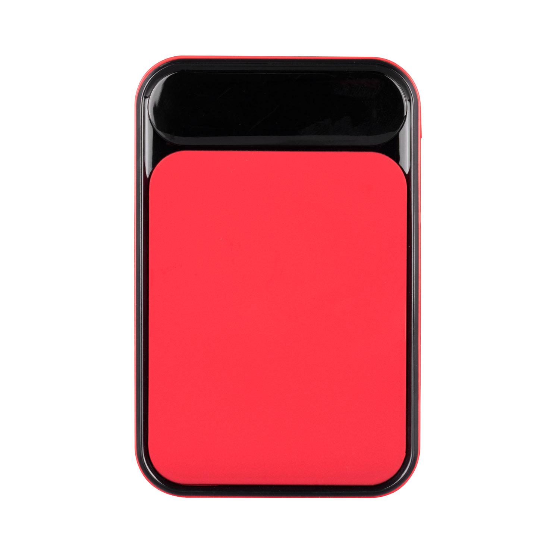 S-link IP-G256 5000mAh Powerbank 2 Usb Port Kırmızı LCD+LED Gösterli Taşınabilir Pil Şarj Cihazı