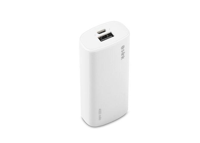 S-link IP-G40 4000mAh Powerbank Beyaz Taşınabilir Pil Şarj Cihazı