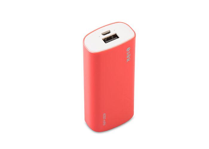 S-link IP-G40 4000mAh Powerbank Pink Charging Powerbank  / Power Pack