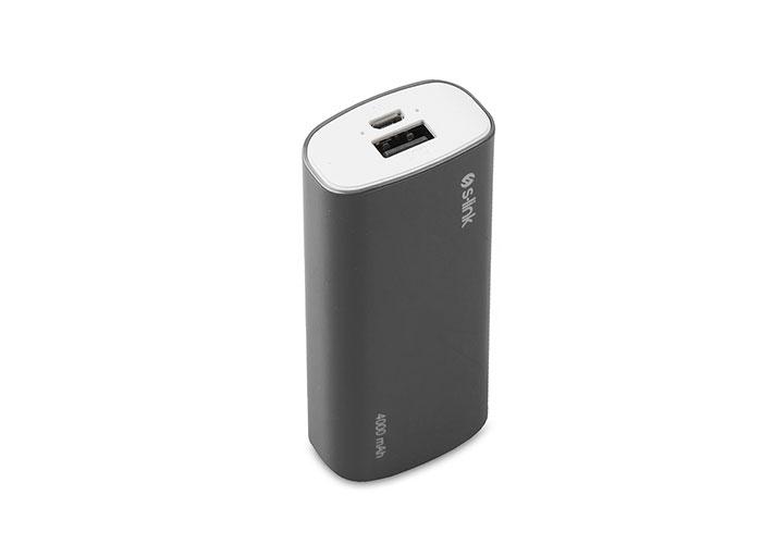 S-link IP-G40 4000mAh Powerbank Siyah Taşınabilir Pil Şarj Cihazı