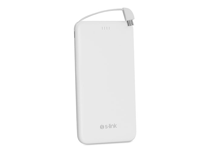 S-link IP-G51 5000mAh Beyaz Taşınabilir Pil Şarj Cihazı