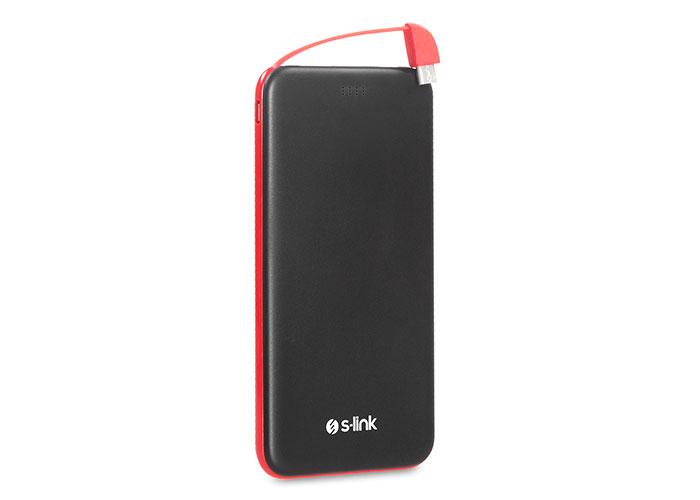 S-link IP-G51 5000mAh Siyah/Kırmızı Taşınabilir Pil Şarj Cihazı