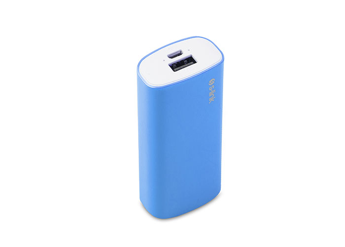 S-link IP-G52 5200mAh Powerbank Blue Charging Powerbank  / Power Pack