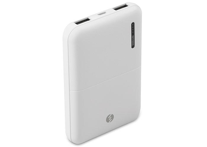 S-link IP-G55 5000mAh Powerbank Beyaz Taşınabilir Pil Şarj Cihazı