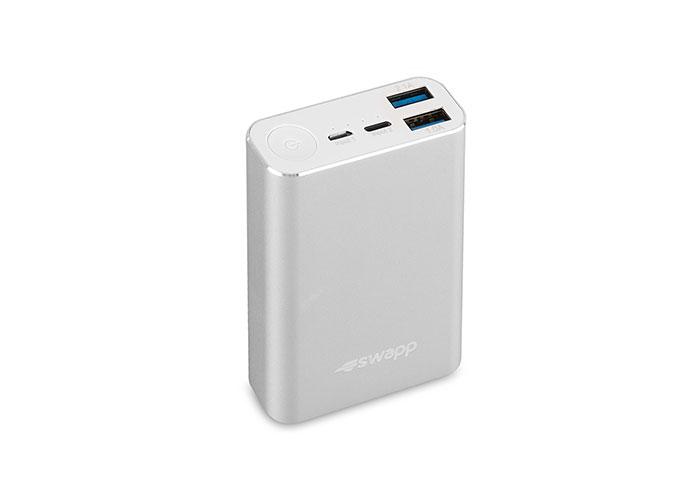 S-link Swapp IP-G7 7800mAh Powerbank Gümüş Taşınabilir Pil Şarj Cihazı