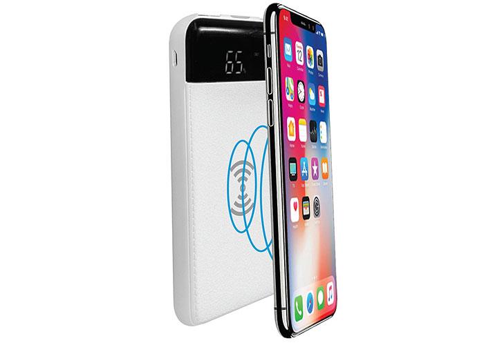S-link IP-G80W 8000mAh Kablosuz Powerbank Beyaz Taşınabilir Pil Şarj Cihazı