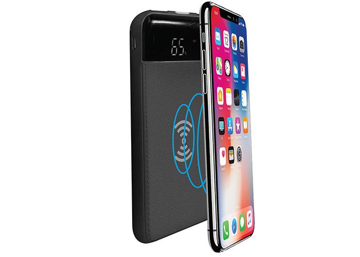 S-link IP-G80W 8000mAh Kablosuz Powerbank Siyah Taşınabilir Pil Şarj Cihazı