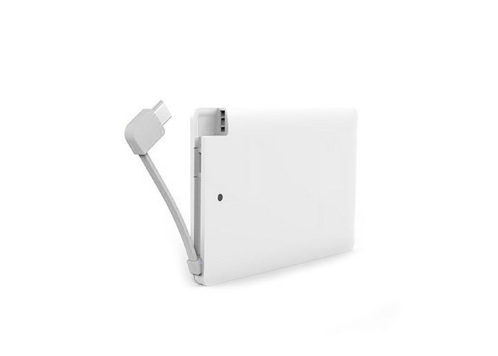 S-link IP-K041 2500Mah White Portable Slim Battery Charger