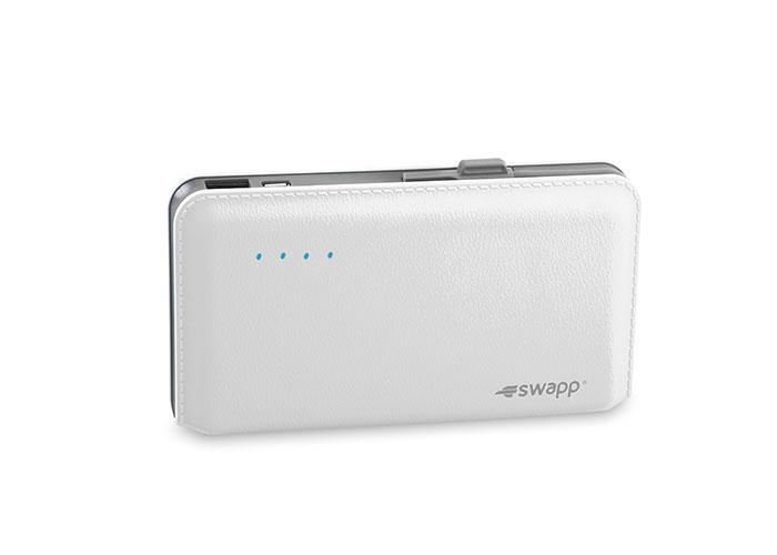 S-link Swapp IP-L44 12000mAh Powerbank Beyaz Taşınabilir Pil Şarj Cihazı