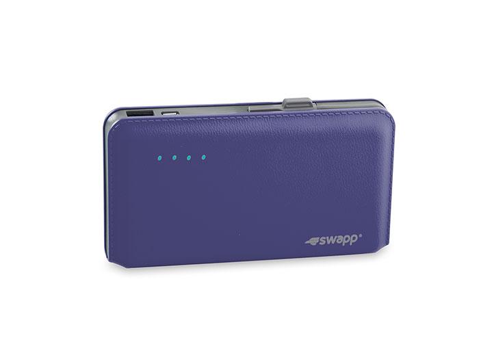 S-link Swapp IP-L44 12000mAh Powerbank Mavi Taşınabilir Pil Şarj Cihazı