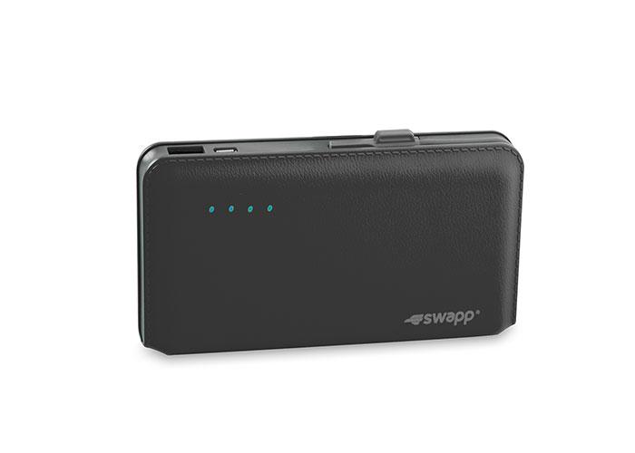 S-link Swapp IP-L44 12000mAh Powerbank Siyah Taşınabilir Pil Şarj Cihazı