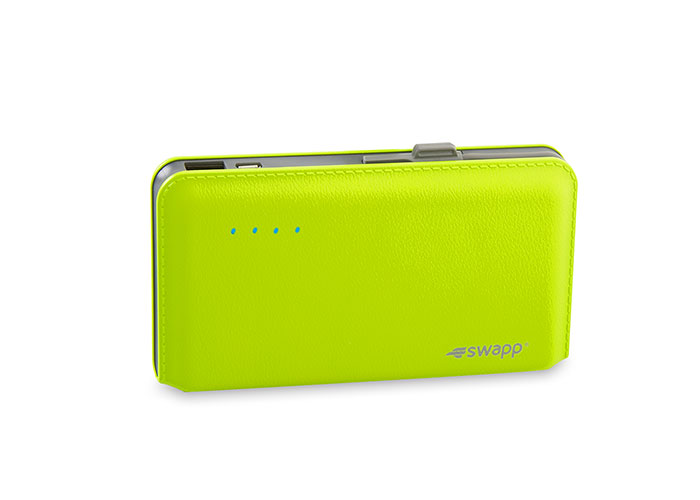 S-Link Swapp IP-L44 12000mAh Powerbank Green Portable Battery Charger