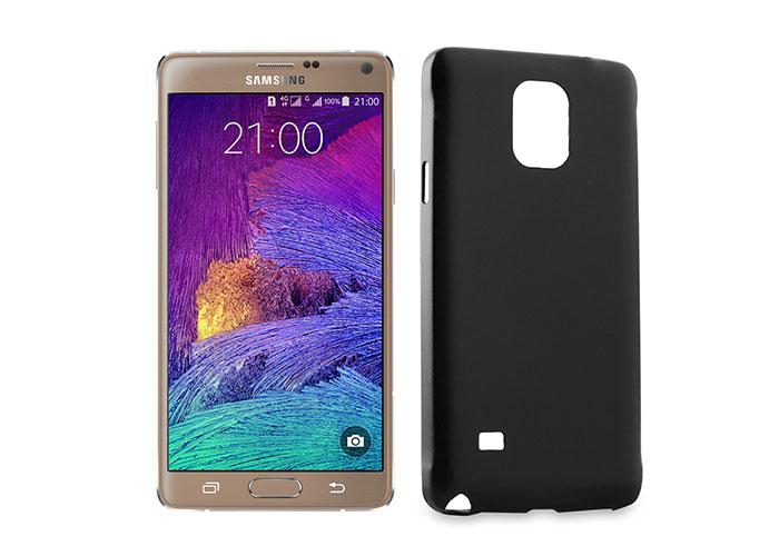 Addison IP-N4 Siyah Samsung Galaxy Note 4 Koruyucu Kılıf