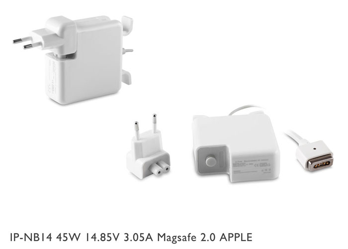 S-link IP-NB14 45W 14.85V 3.05A Magsafe 2.0 APPLE Notebook Standart Adaptör