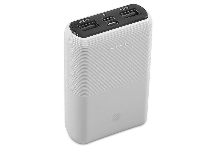 S-link IP-S110 10000mAh 2*Usb Port+Micro+Type C Powerbank Beyaz Taşınabilir Pil Şarj Cihazı