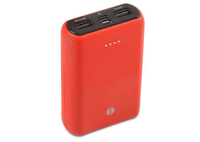 S-link IP-S110 10000mAh 2*Usb Port+Micro+Type C Powerbank Kırmızı Taşınabilir Pil Şarj Cihazı