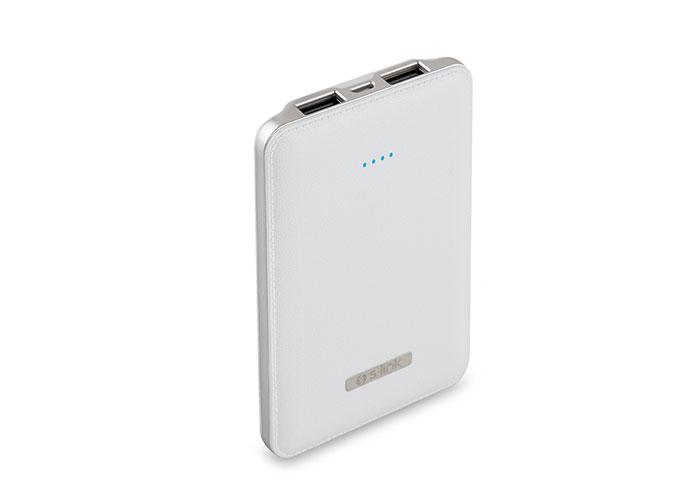 S-link IP-S500 5000mAh Powerbank Beyaz Taşınabilir Pil Şarj Cihazı