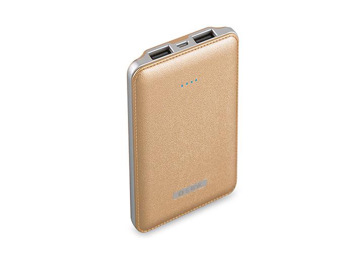 S-link IP-S500 5000mAh Powerbank Gold Taşınabilir Pil Şarj Cihazı