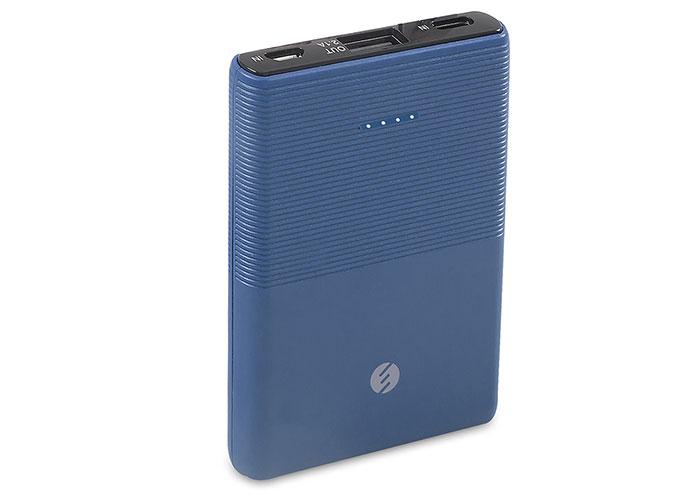 S-link IP-S50 5000mAh 1*Usb Port+Micro+Type C Powerbank Mavi Taşınabilir Pil Şarj Cihazı