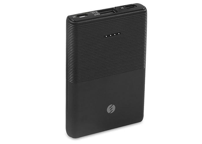 S-link IP-S50 5000mAh 1*Usb Port+Micro+Type C Powerbank Siyah Taşınabilir Pil Şarj Cihazı
