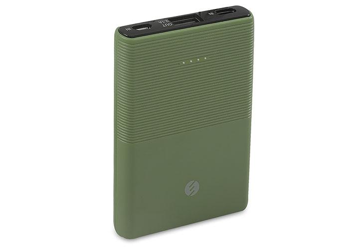 S-link IP-S50 5000mAh 1*Usb Port+Micro+Type C Powerbank Yeşil Taşınabilir Pil Şarj Cihazı