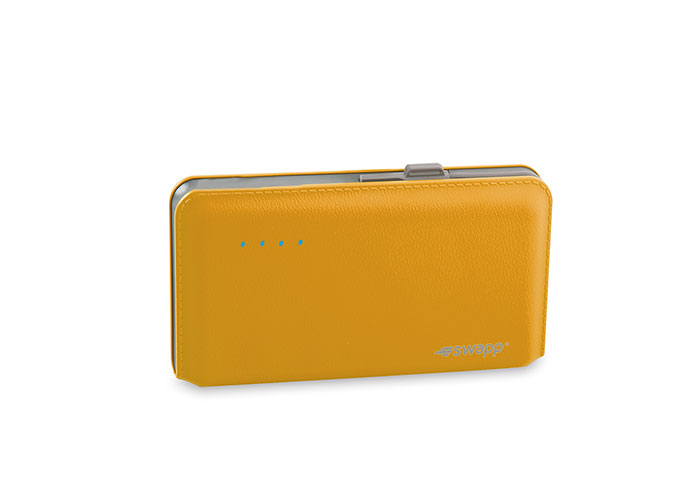 S-Link Swapp IP-S55 6500mAh Extra Slim Gold Sony Polymer Battery Powerbank
