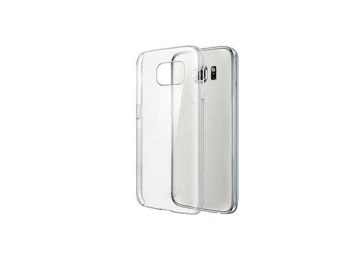 Addison IP-S66 Beyaz Samsung S6 Edge Şeffaf Koruma Kılıfı