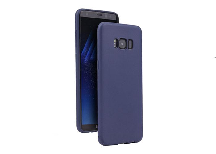 Addison IP-S8 MatMavi Samsung Galaxy S8 Ultra İnce Koruma Kılıfı