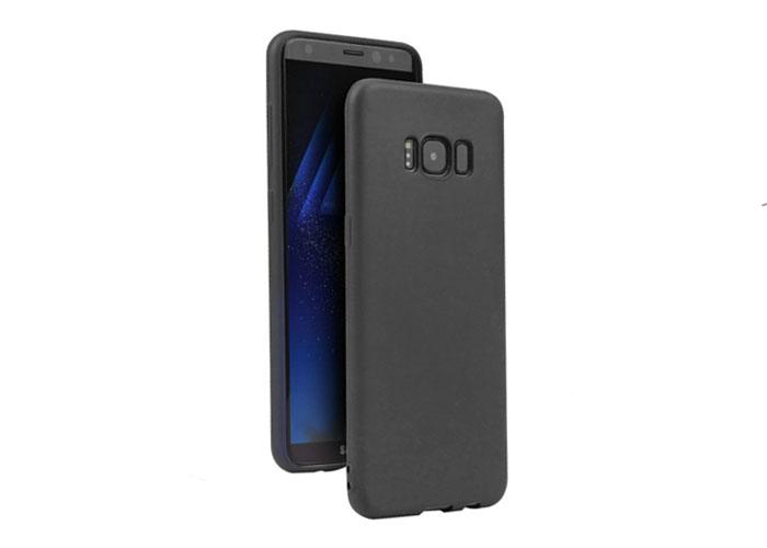 Addison IP-S8 MatSiyah Samsung Galaxy S8 Ultra İnce Koruma Kılıfı