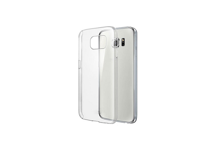 Addison IP-SE6 Beyaz Samsung S6 Şeffaf Koruma Kılıfı
