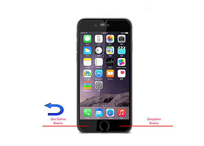 Addison IP-SM6 Tempered Glass Iphone 6 0.33mm 2.5d Cam Ekran Koruyucu