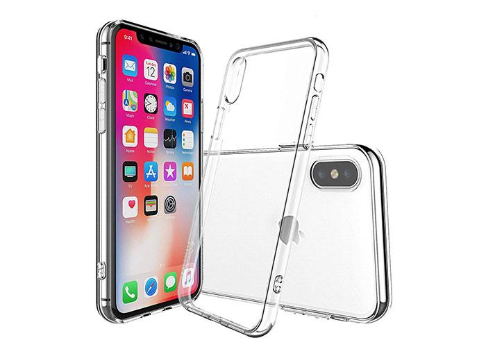 Addison IP-881 Gold iPhone X Soft Phone Case