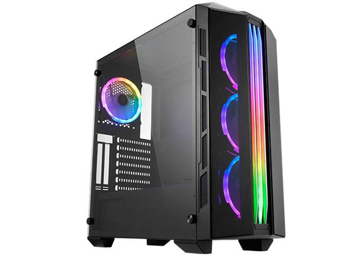 Xigmatek EN43774 ISTANBUL 4*12cm Fanlı Tempered Camlı X-Power 650W 1*Usb3.0 2*Usb2.0 Gaming Oyuncu Kasası