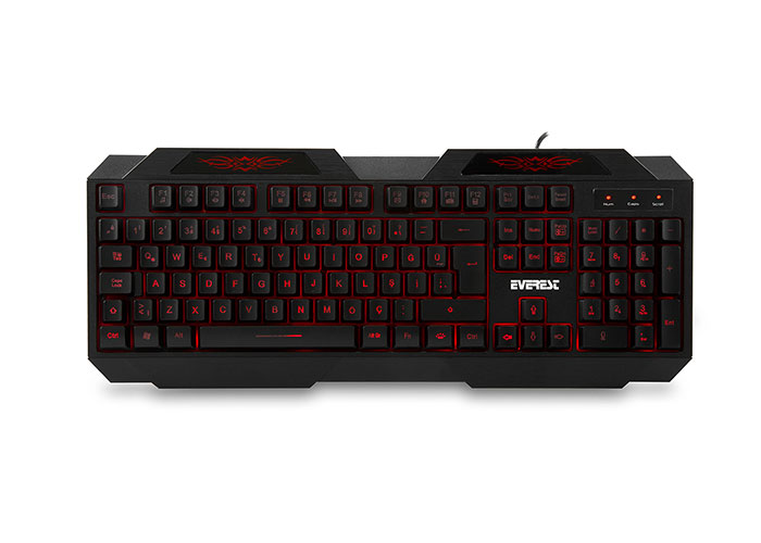 Everest KB-115 Siyah USB 3 Color Lightning Q Standart Gaming Keyboard