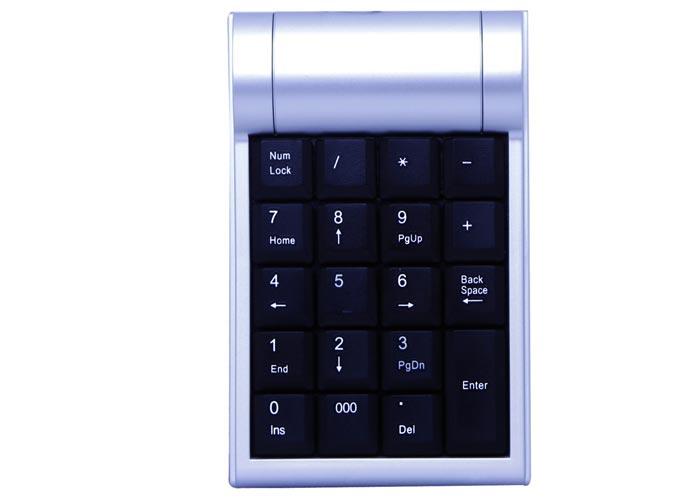 Everest KB-2017 Gri/siyah USB Numeric Standart Klavye
