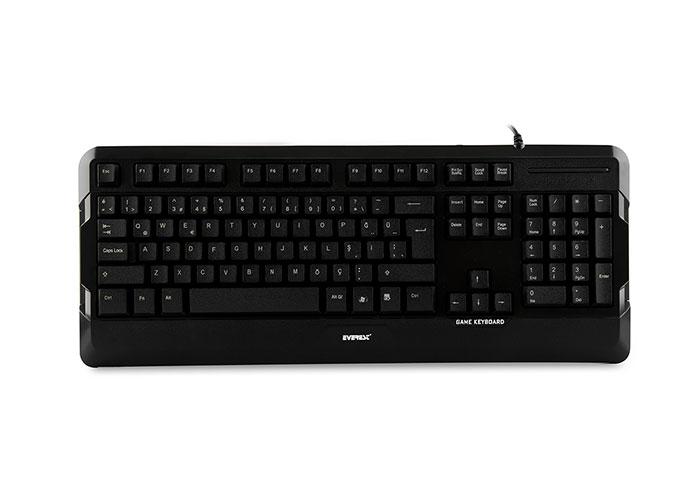 Everest KB-8835 Black USB Gaming Q Standard Keyboard