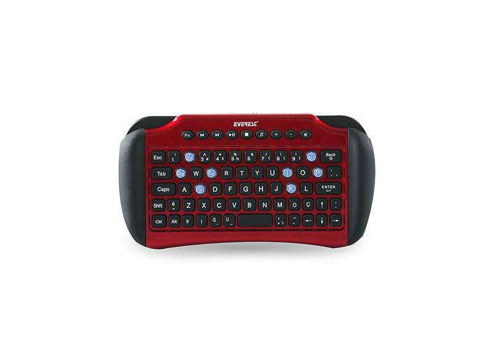 Everest KB-95AG Kırmızı 2.4Ghz Q Multimedia Kablosuz klavye
