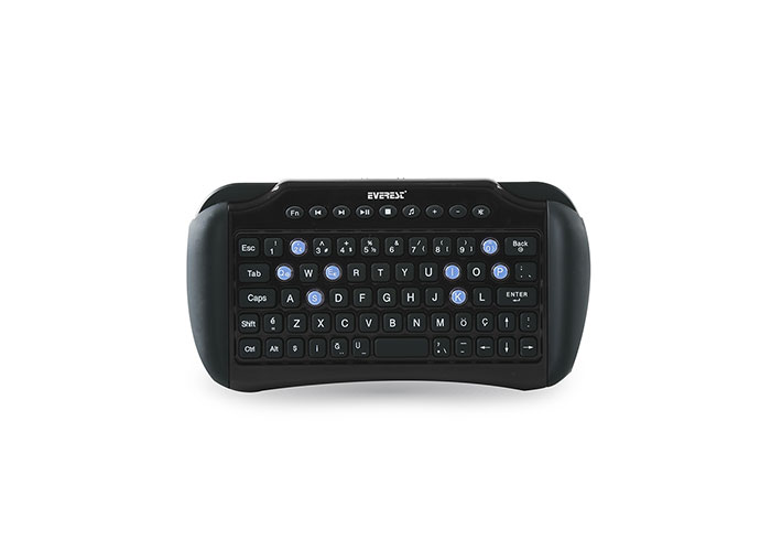 Everest KB-95BT Gri Bluetooth Q Multimedia Kablosuz klavye