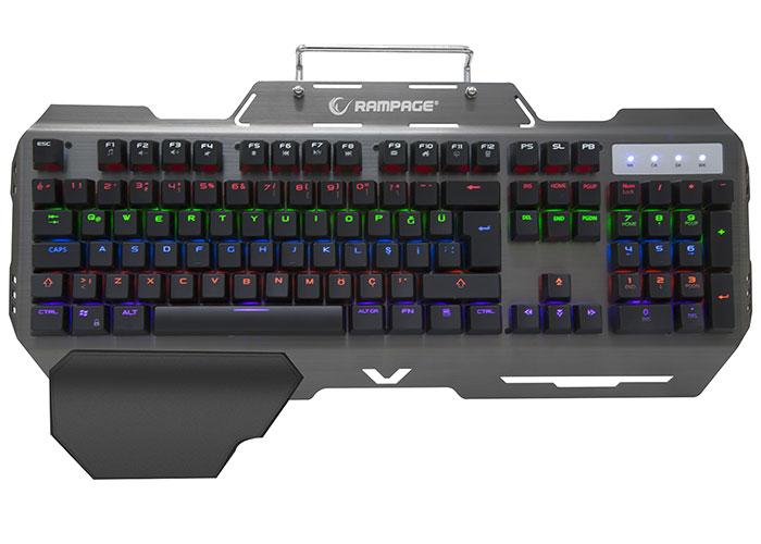 Rampage KB-R89 EAGLE USB Red Switch Gaming Mechanical Keyboard