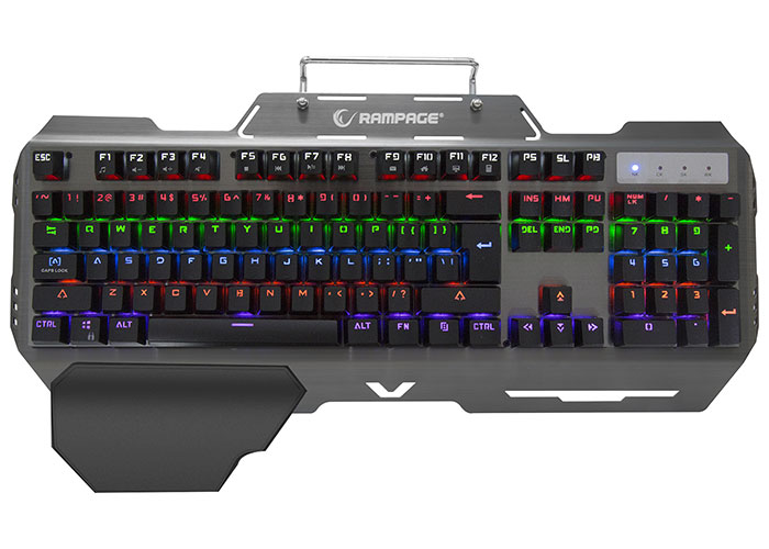 Rampage KB-R89 EAGLE USB US Layout Blue Switch Gaming Mekanik Klavye