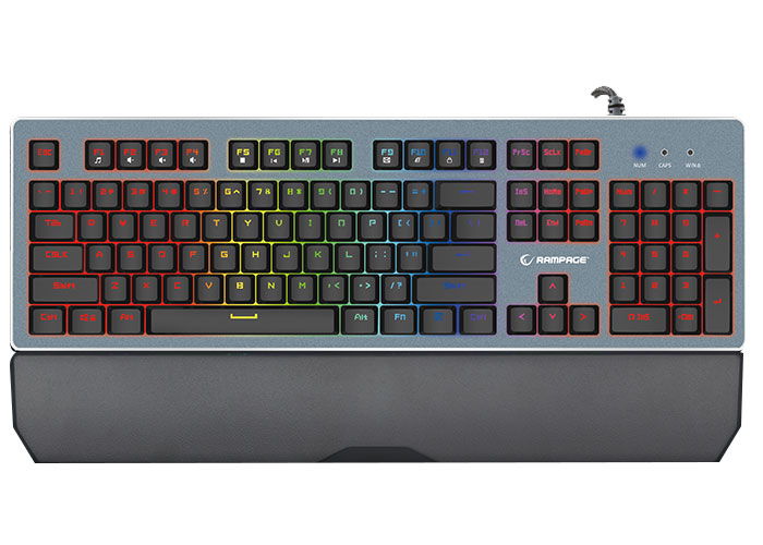 Everest Rampage MITHRIL PRO KB-RX8 Siyah USB US Layout Gaming Klavye