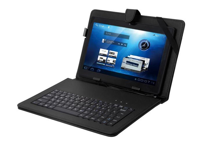 Everest KB-TAB10 10 Siyah Micro+Mini Usb Türkçe Q Klavye Tablet Pc Kılıfı