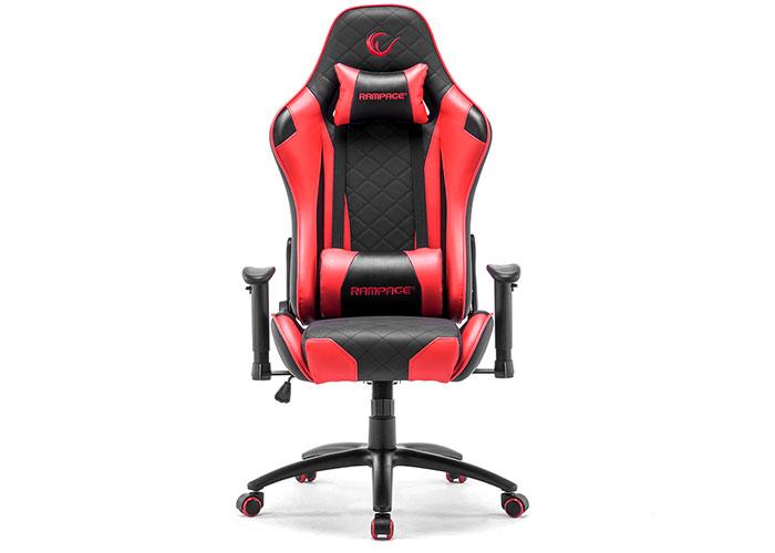 Rampage KL-R40 Throne Serisi Siyah/Kırmızı Oyuncu Koltuğu
