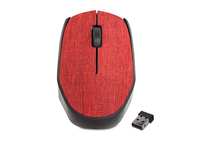Everest KM-218 Usb Kırmızı 2.4Ghz Kumaş Yüzey Kablosuz Mouse