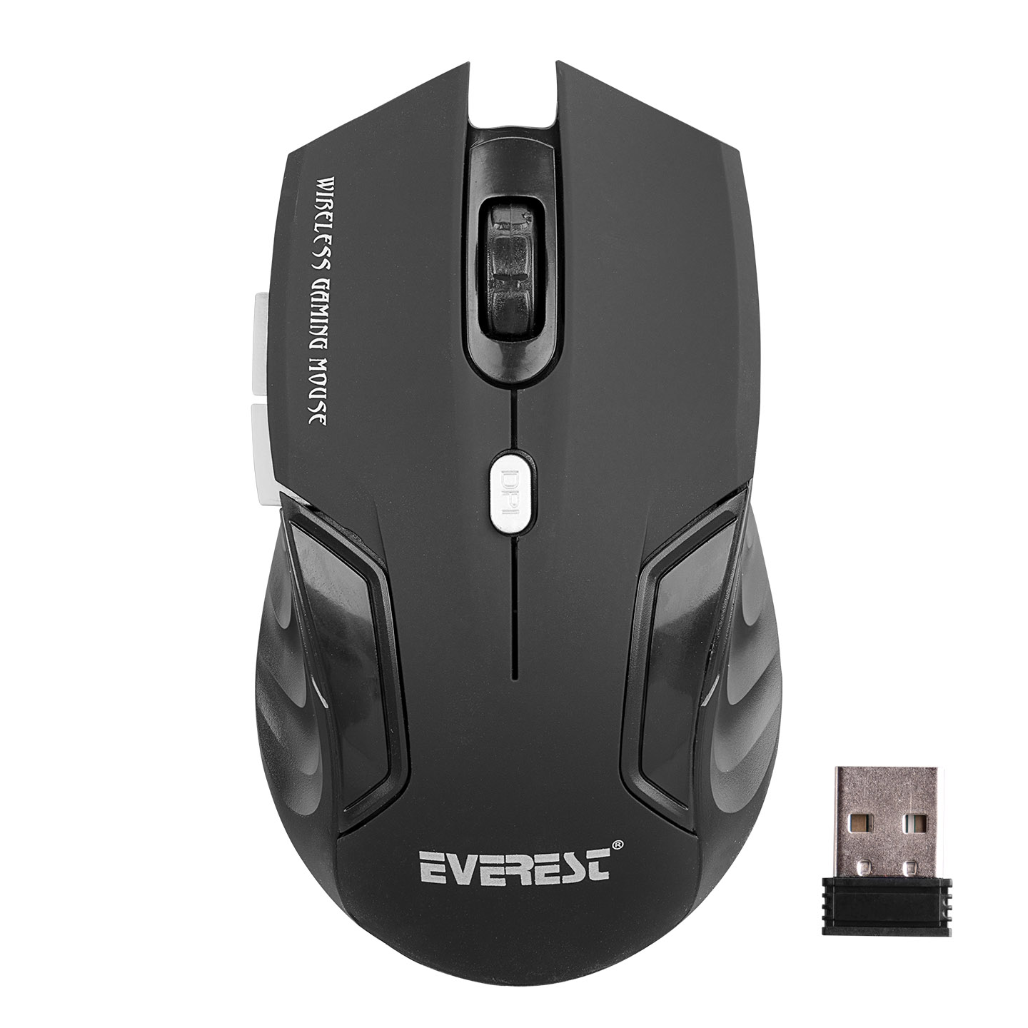 Everest KM-230 Usb Black 2.4Ghz Optical Wireless Mouse